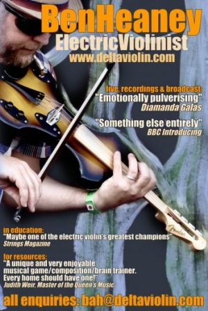 photo ad for Ben Heaney, Director Delta Violin Ltd.